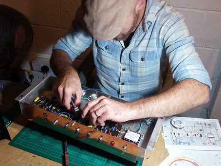Dominator Valve Amplifier Build