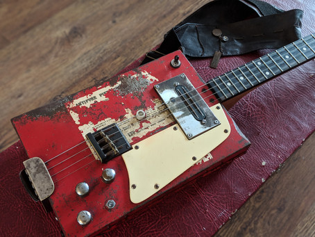 A Build Diary Of Our 'Firebox Guitar'