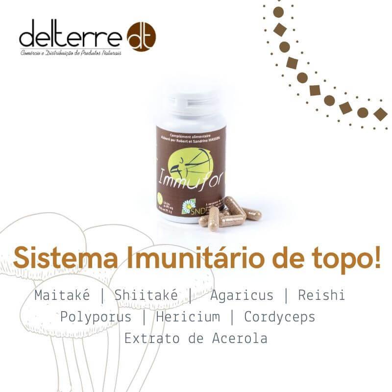 Immufor - suplemento alimentar para fortalecimento do sistema imunitário