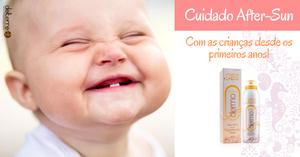 After-sun pediatrico natural