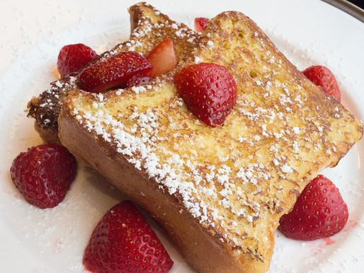 Stuffed French Toast Breakfast