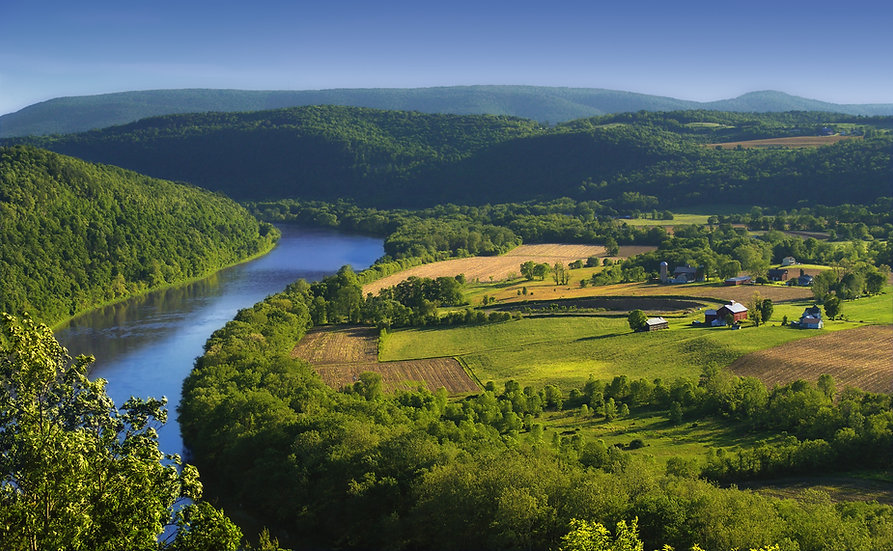 Susquehana River Endless Mountais