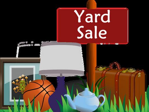 Happy Tails Yard Sale