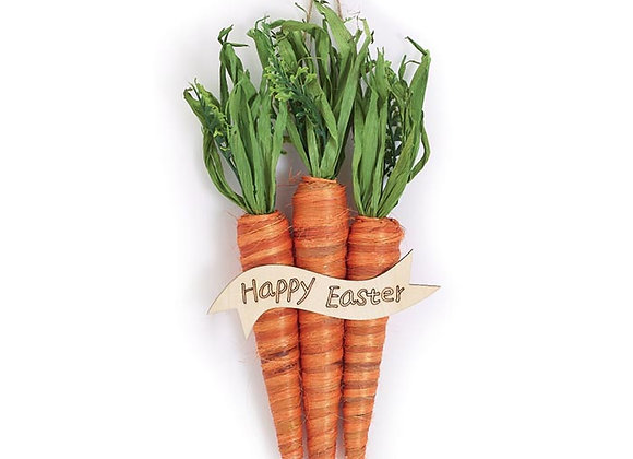 Easter Carrot Wall Hanging