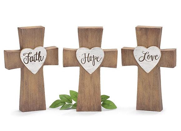 Easter Message Cross