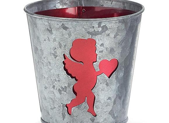 """4"""" Cupid Pot Cover"""