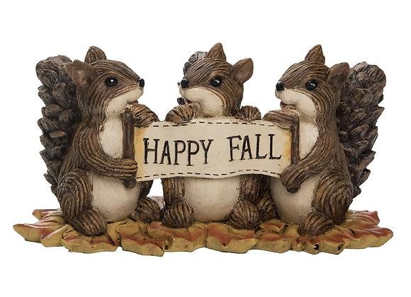 Sharing Squirrels Figurine