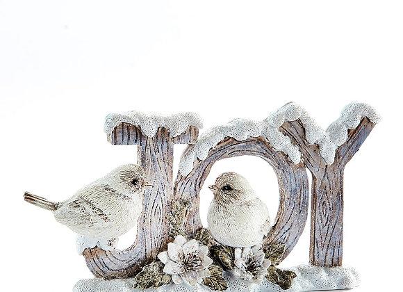 Joy Figurine w/Birds