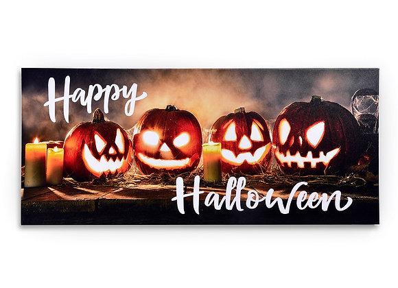 Happy Halloween LED Canvas