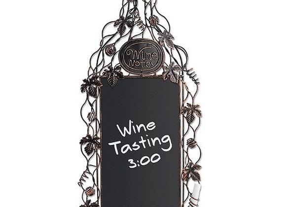Grapevine Wine Chalkboard Sign