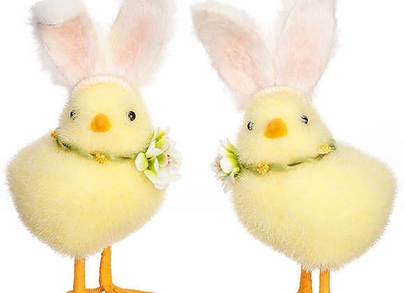 Chick with Rabbit Ears - Sold as pair