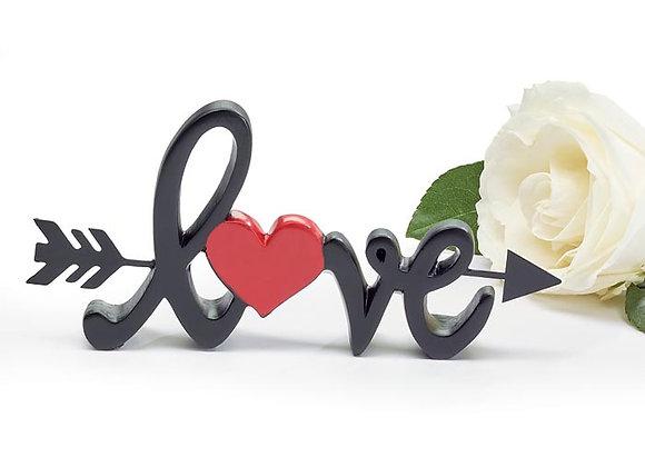 Love with Arrow Shelf Sitter