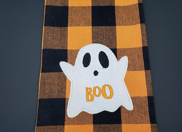 Ghost Embellished Dishtowel