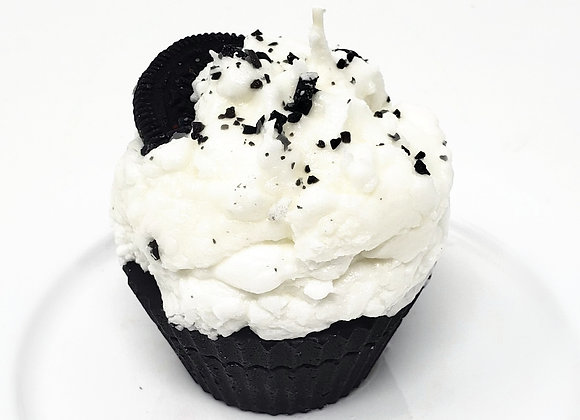 Cookies & Cream Scented Cupcake Candle