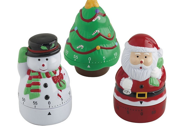 Christmas Kitchen Timers - priced individually