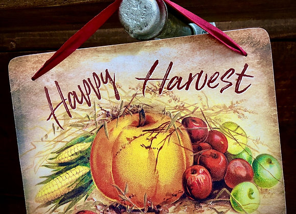 Happy Harvest Wall Hanging