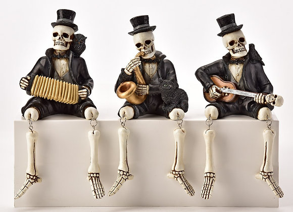 Skeleton Shelf Sitters - Set of 3