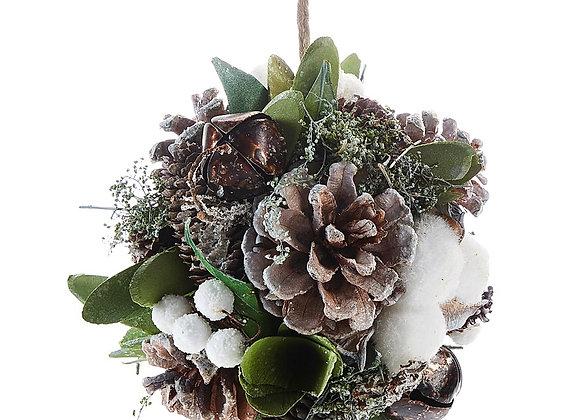 Pine Cone Orb Ornament
