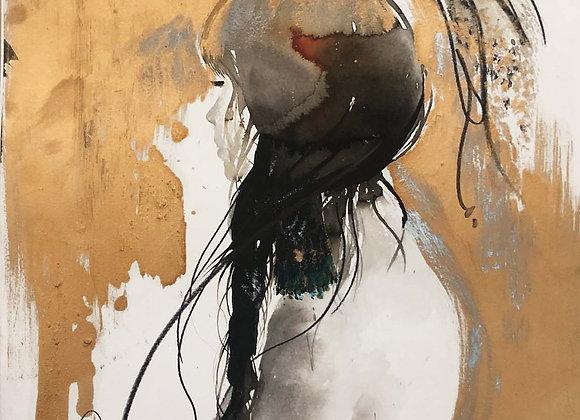Girl & a Bird