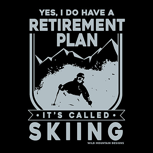 Retirement Plan Skier