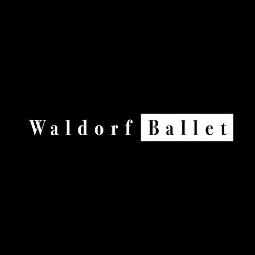WALDORF BALLET LOGO TEE & ZIP HOODIE
