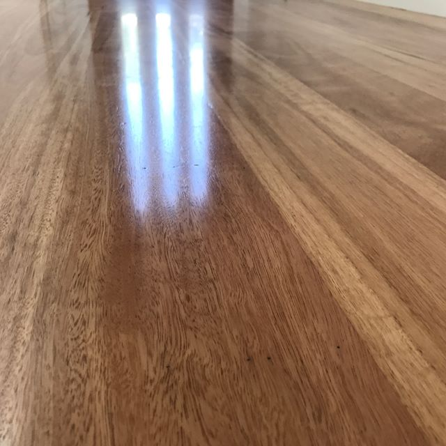 Coastal Blackbutt goodness finished last Xmas. This 130x19 T&G was Supplied,  Installed and Finished