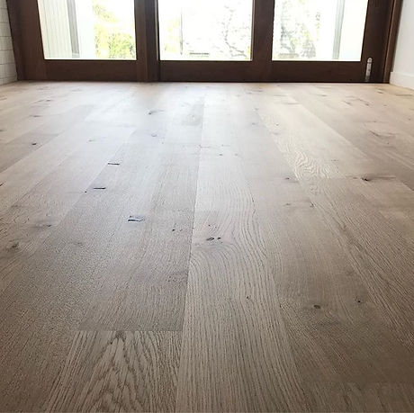 I've had the privilege of working with a lot of Engineered French Oak lately but this one was the be