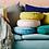 Thumbnail: Rylie Cushion - Chartreuse