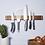 Thumbnail: Wooden magnetic knife holder