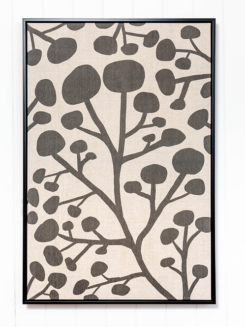 Tribal Illustration Collection Linen - 62x9