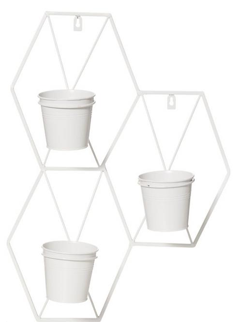 Convex wall planter