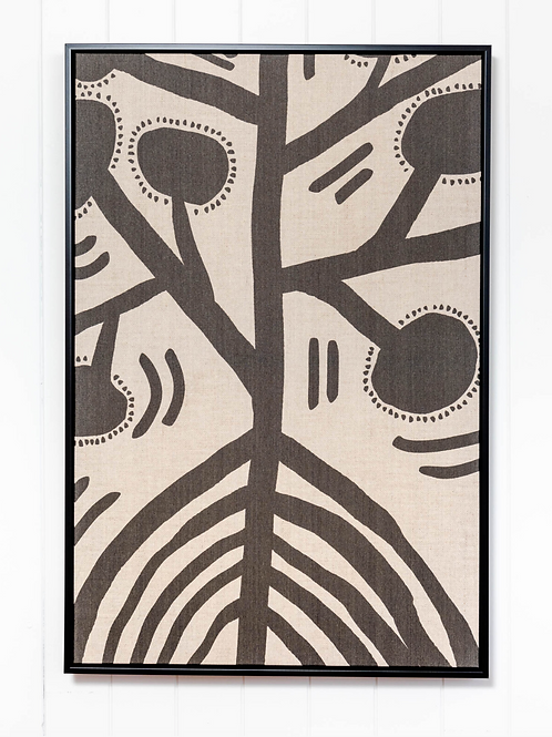 Tribal Illustration Solo Linen - 62x92