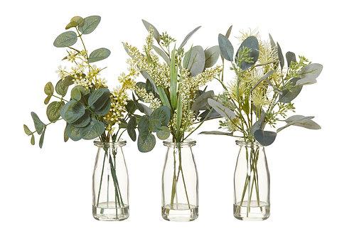 Mixed native vase