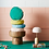 Thumbnail: Rylie Round Cushion - Turquoise