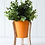 Thumbnail: Malik Planter Small - Tin and Timber Tangerine
