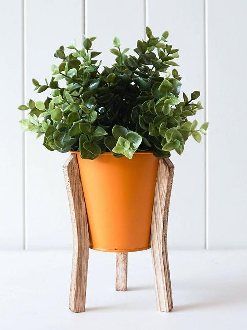 Malik Planter Small - Tin and Timber Tangerine