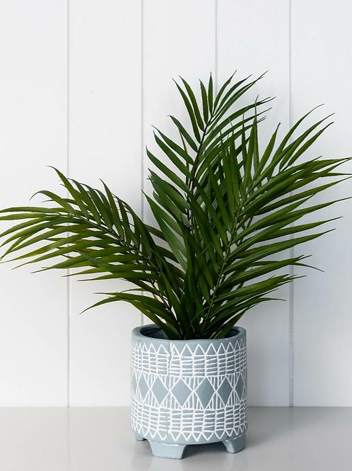 Planter- Claude Blue - 2 sizes - 14cm/11cm