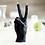 Thumbnail: Victory/ Peace candle - Black