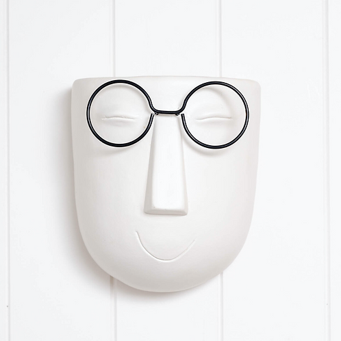 Wall Planter - Harry Face Pot