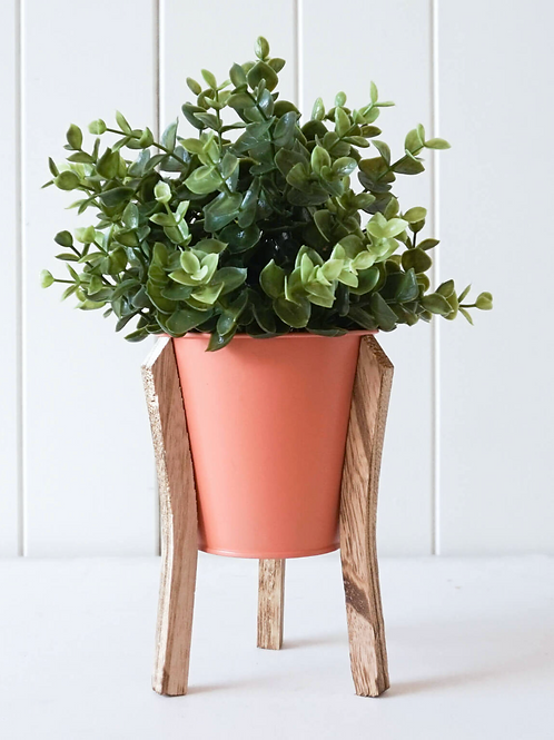 Malik Planter Small - Tin and Timber Watermelon