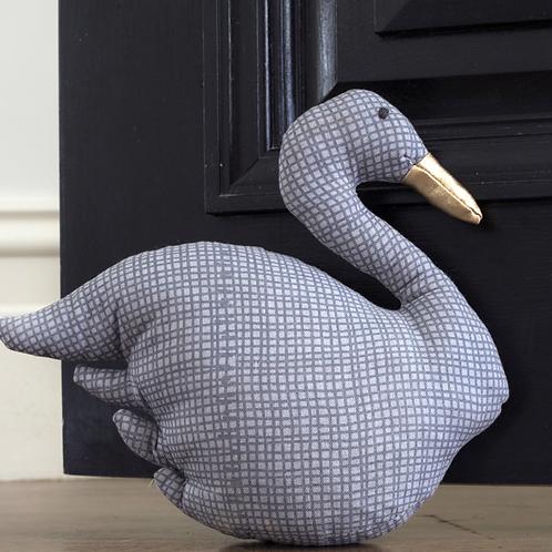 Grey Swan Doorstop