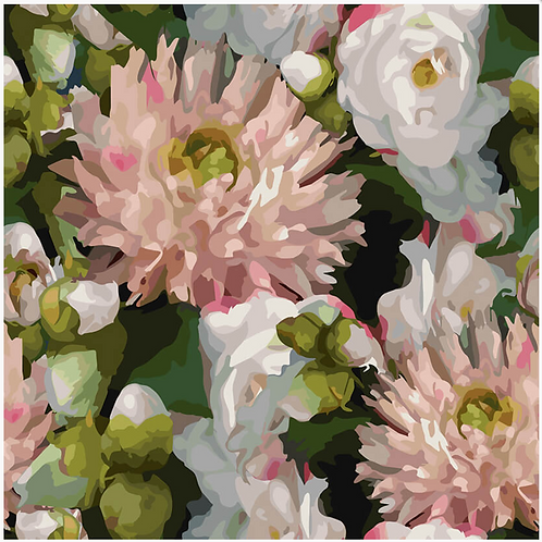 Midnight Florals B