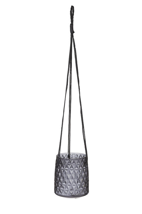 Black Diamond Hanging planter