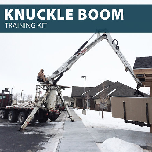 Knuckle Boom Truck Training Kit
