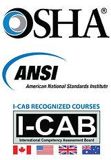OSHA, ansi, i-cab, courses, training kits