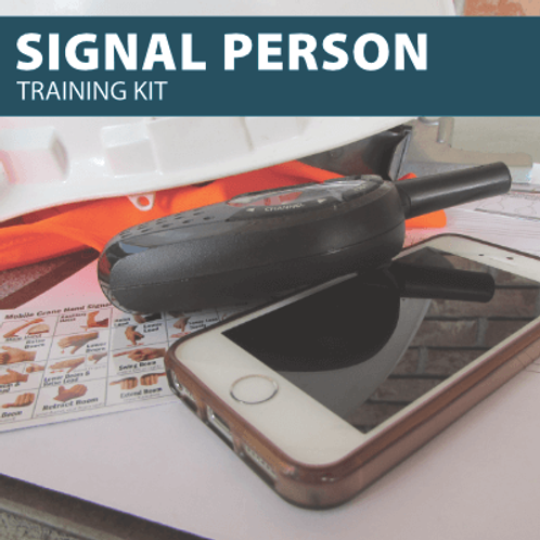 Signal Person Training Kit