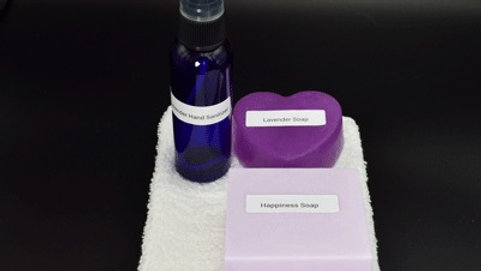 Hand Sanitizer & Soap Set