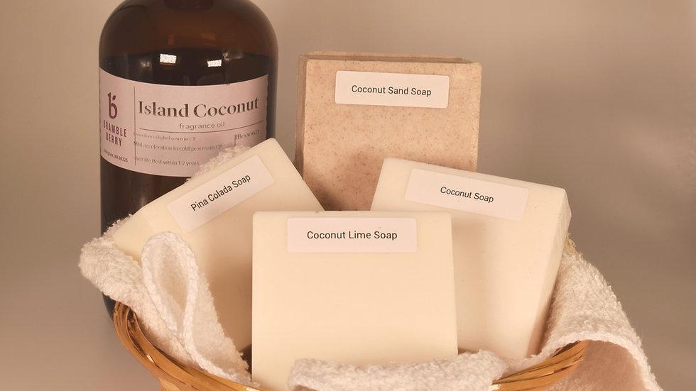 Coconut Soap Gift Basket