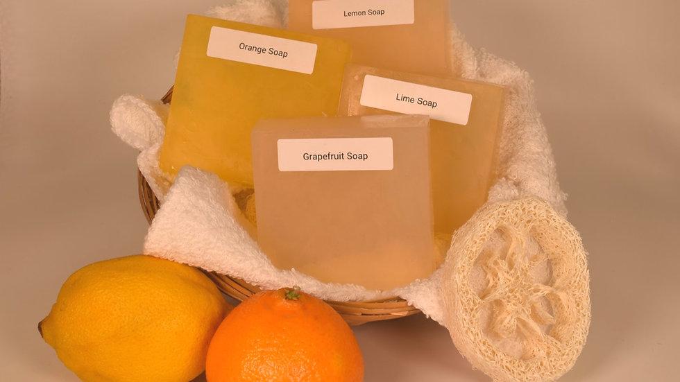 Citrus Soap Gift Basket