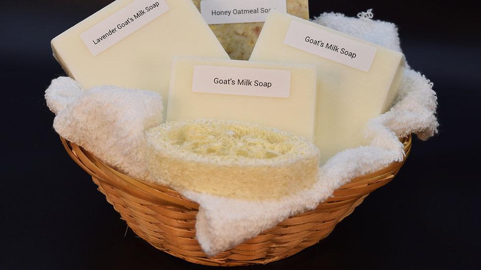Goat Milk Soap Gift Basket